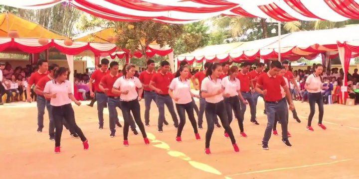 เชิญชวนประชาชนตำบลมุจลินท์ เข้าร่วมกิจกรรมออกกำลังกายโครงการออกกำลังกายด้วยการเต้นบาสโลบ