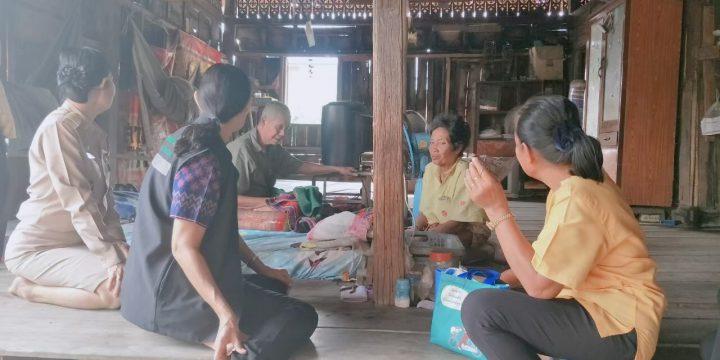 โครงการเยี่ยมบ้าน สานสัมพันธ์ ผู้สูงอายุและคนพิการ